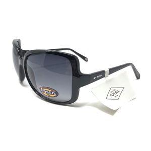 Fossil Black Rimmed Summer Sunglasses NWT
